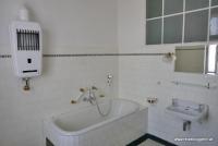 Das Badezimmer im Haus Brummel in Pilsen