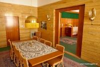 Das Esszimmer der Familie Vogl in Pilsen