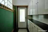Der Hausflur in der Wohnung Brummel in Pilsen