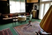 Der Salon in der Wohnung der Familie Brummel in Pilsen