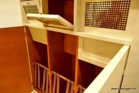 Ein Wäscheschrank - Design von Adolf Loos