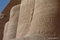 Inschriften in Abu Simbel