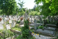 Der Bellu Friedhof in Bukarest