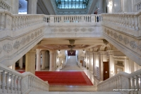 Das Treppenhaus im Parlamentspalast