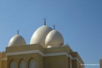 Eine Moschee in Dubai