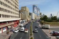 Straßenverkehr in Dubai