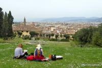 Im Boboli Garten in Florenz