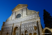 Die Kirche Santa Maria Novella in Florenz