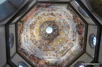 Die Kuppel von Giorgio Vasari in Florenz