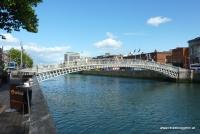 Halfpennybridge in Dublin