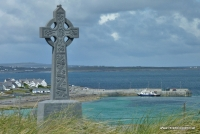 Keltisches Kreuz in Inisheer