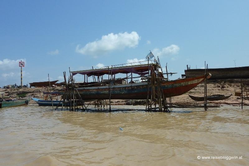 Tonle Sap in Kambodscha