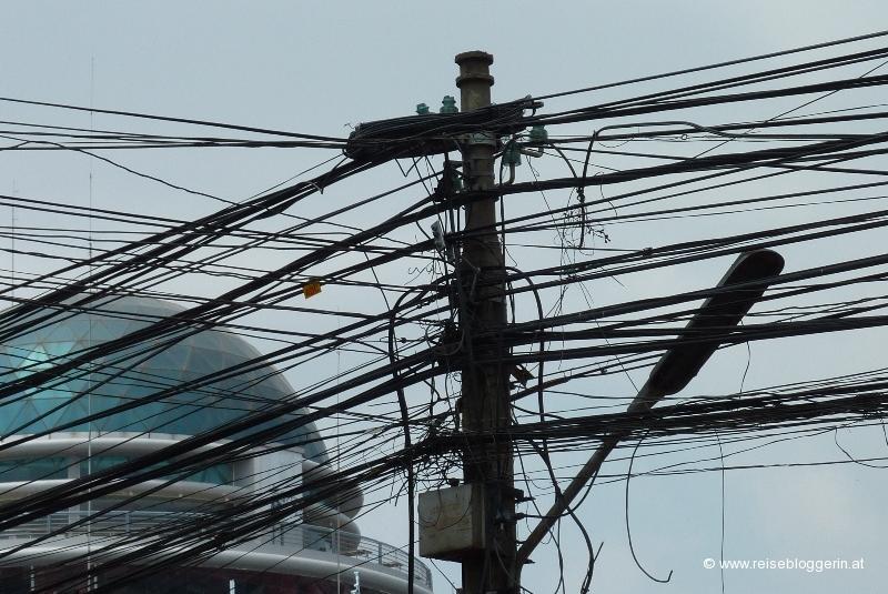 Strom in Phnom Penh