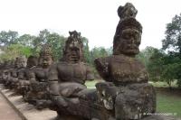 Dämonen bewachen den Tempel