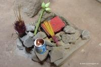 Opfergaben im Tempel