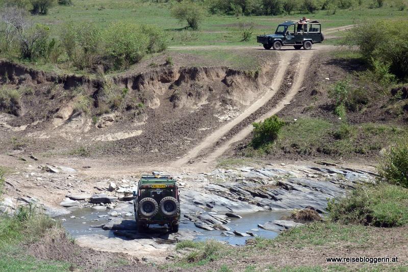 Unterwegs in der Masai Mara in Kenia