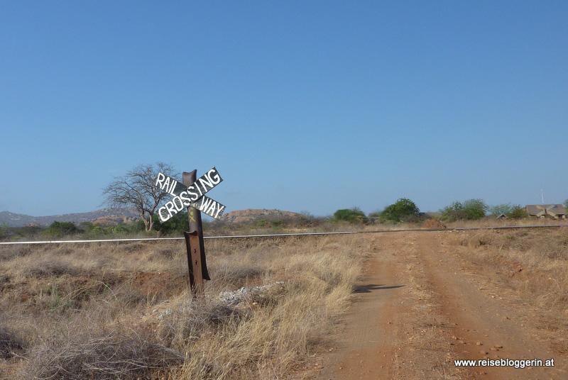 Railway Crossing in Kenia
