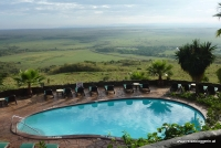 Lodge in der Masai Mara
