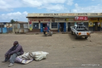 On the road in Kenia