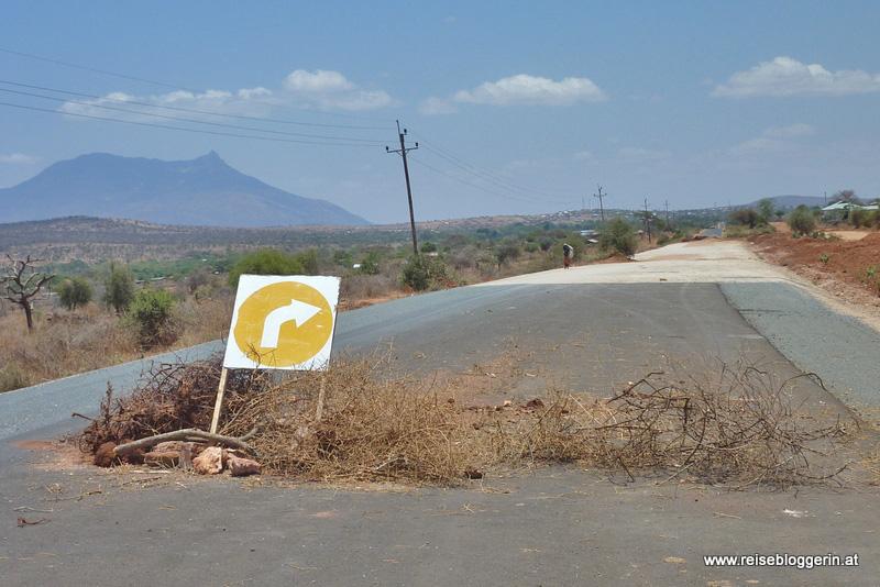 Umleitung in Kenia