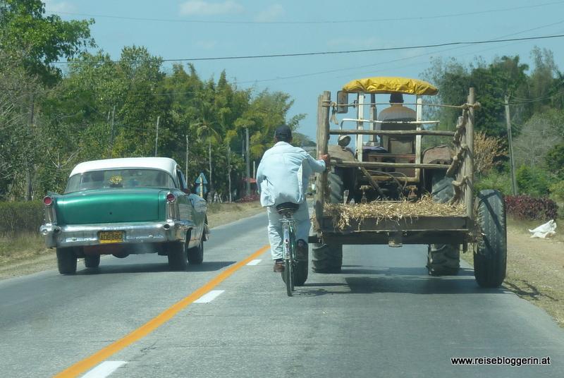 Auf den Straßen Kubas