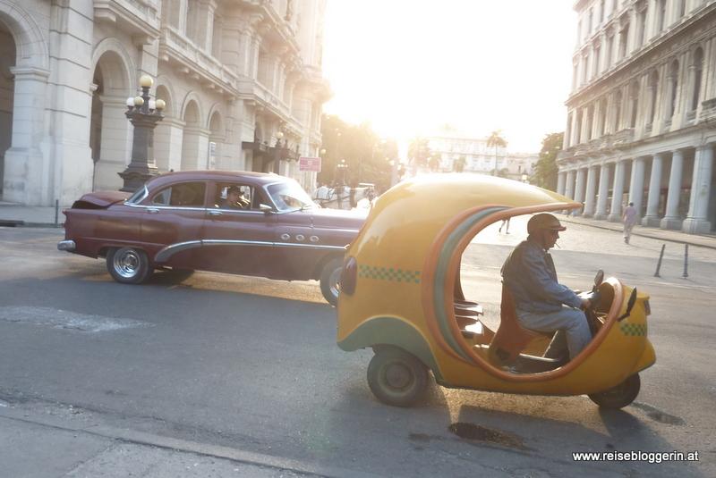 Coco Taxi in Havanna