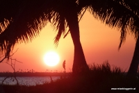 Sonnenuntergang auf Kuba