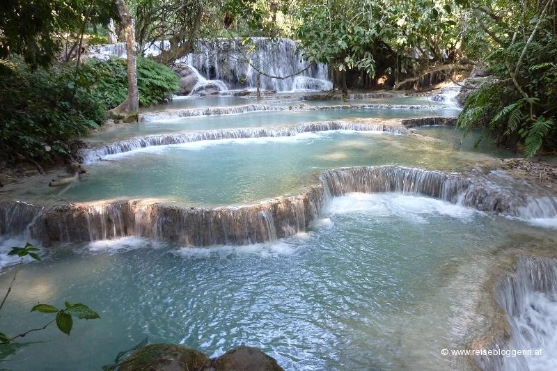 Kuang Si Wasserfall in Laos