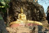 Buddhastatue in Laos