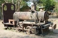 die französische Lokomotive in Don Khon