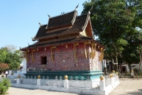 Ein Tempel in Luang Prabang