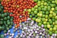 Gemüse am Markt in Luang Prabang
