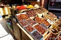 Datteln im Souk von Marrakesch