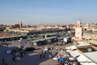 Djemaa el-Fna in Marrakesch