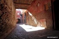 Licht und Schatten in Marrakesch