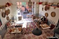 Ein gemütliches Lokal in Marrakesch