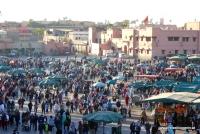 Platz der Gaukler in Marrakesch
