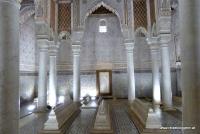Die Saadier Gräber in Marrakesch