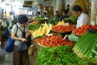Am Markt von Port Louis