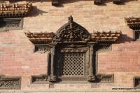 Ein Detail eines Tempels in Nepal