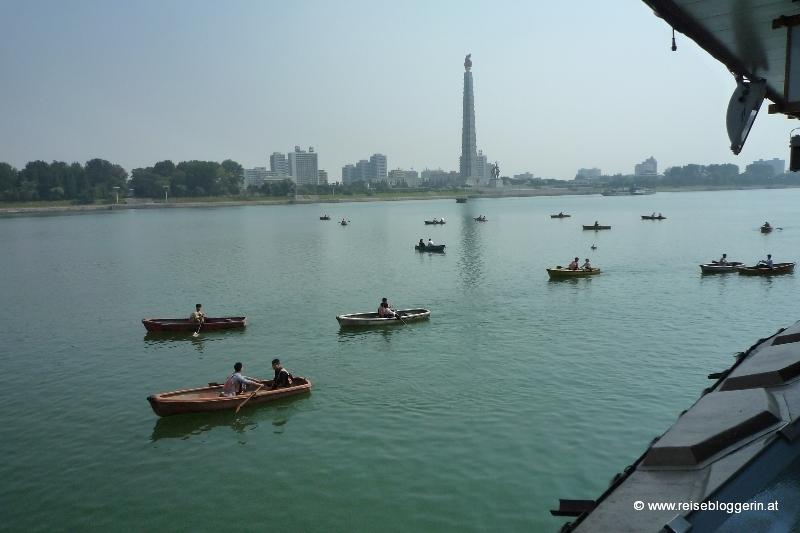 Bootsfahrt am Taedong