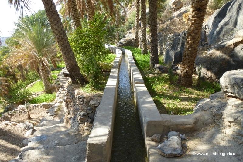 Aflaj bzw. Wasserkanal