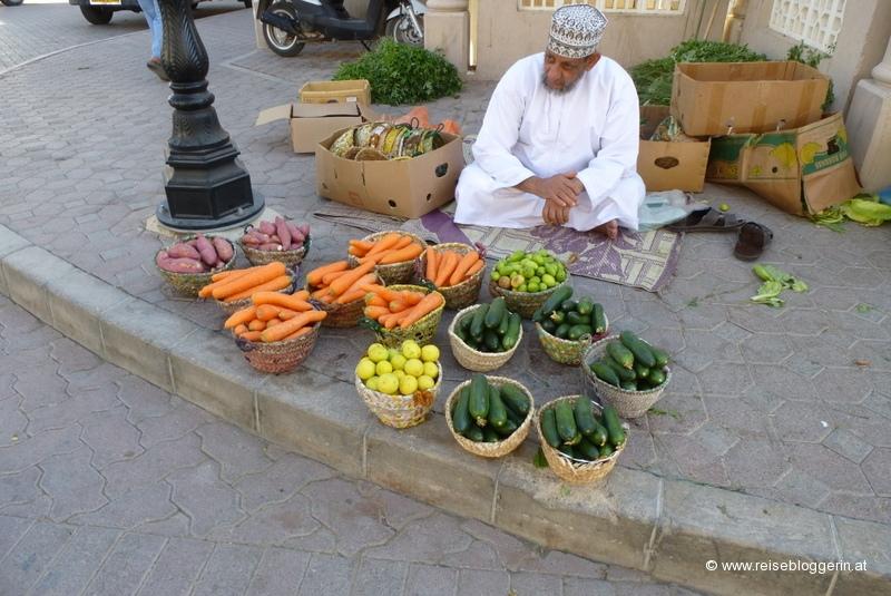 Am Markt in Nizwa
