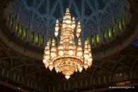 Swarowski Luster in der Moschee