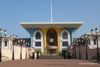 Präsidentenpalast in Mutrah