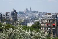 Montmartre (Blick vom Buttes Chaumont)