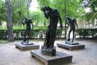 Im Park vom Rodin Museum