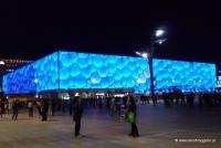 Das Schwimmstadion in Peking