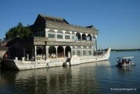 das Steinboot im Sommerpalast