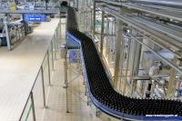 Die Abfüllanlage in der Brauerei Pilsner Urquell